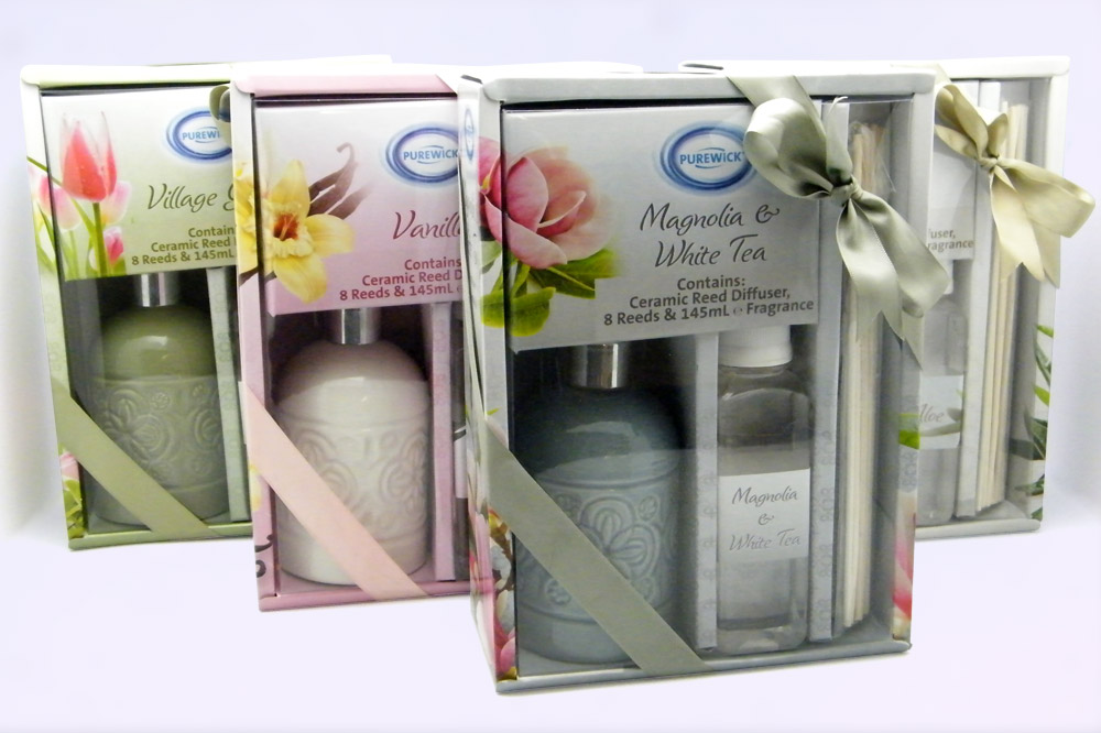 ALDI Reed Diffusers Packages Design