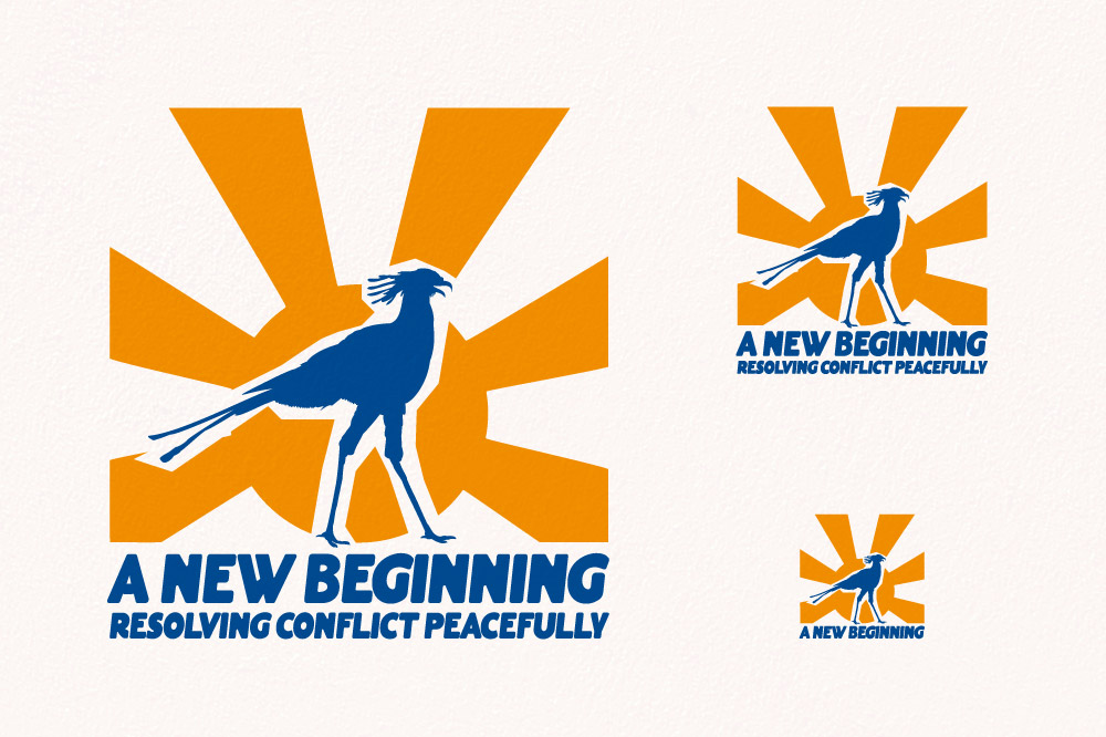 A New Beginning - Resolving Conflict Peacefully Logo