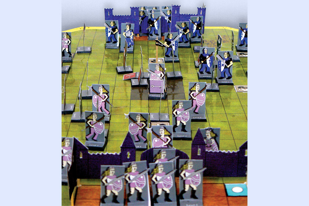 Scene from Board Game