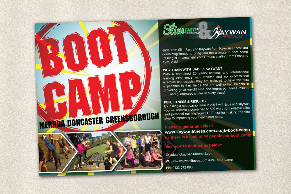 Boot Camp Flyer