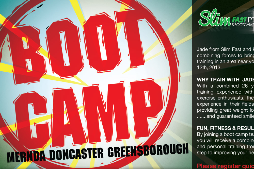 Boot Camp Flyer Detail