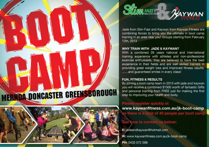 Boot Camp Flyer Feature