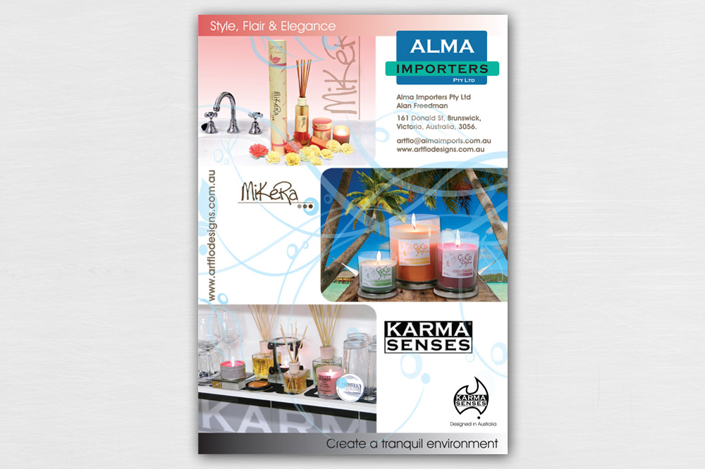 Alma Importers A0 Poster 02