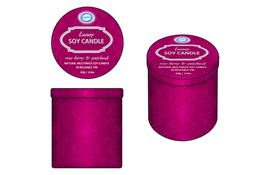 Product Mock-up - Soy Candle Tins 03