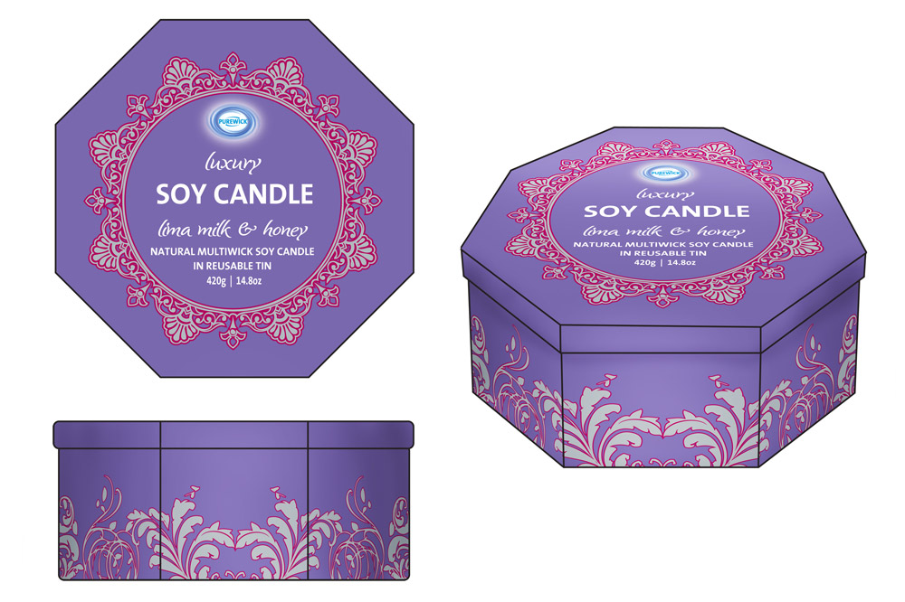 Product Mock-up - Soy Candle Tins 04