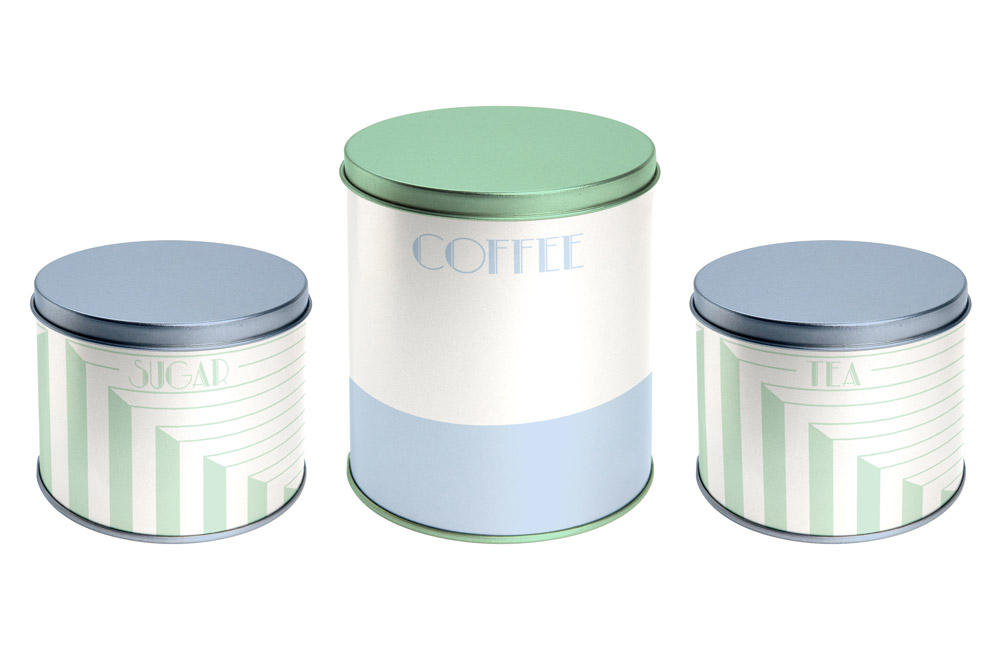 Product Mock-up - Tin Canister Set 01
