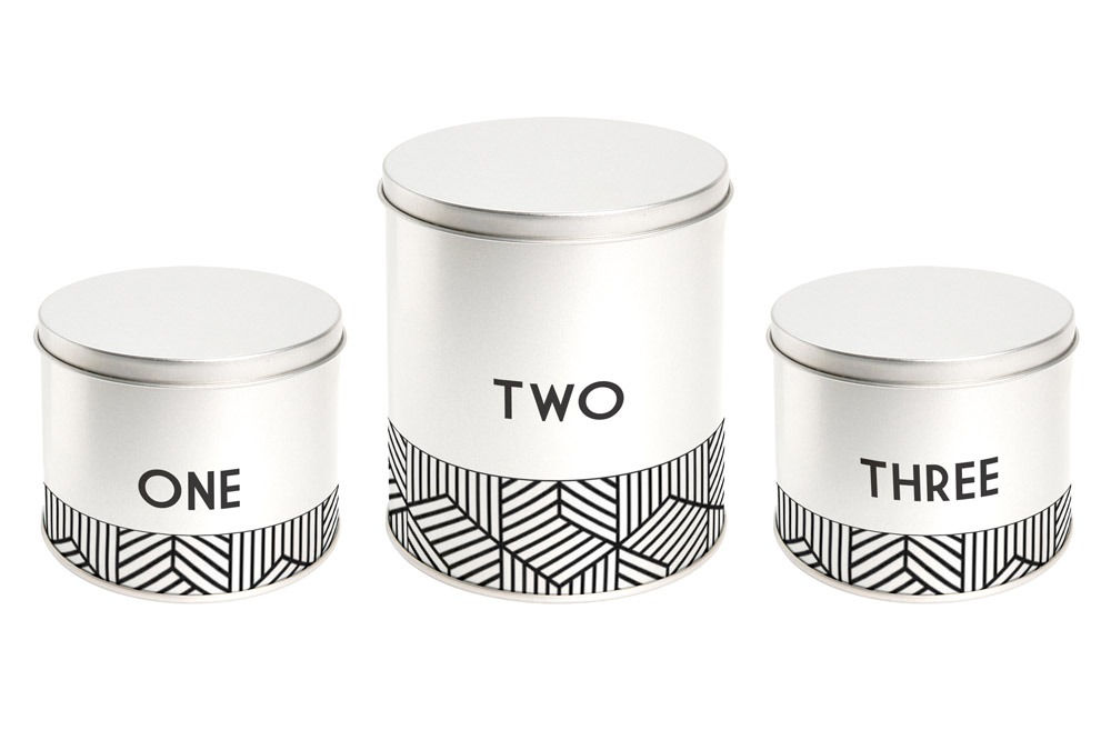 Product Mock-up - Tin Canister Set 02