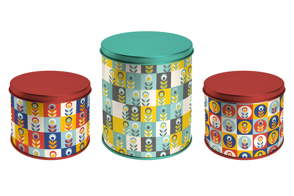 Product Mock-up - Tin Canister Set 04